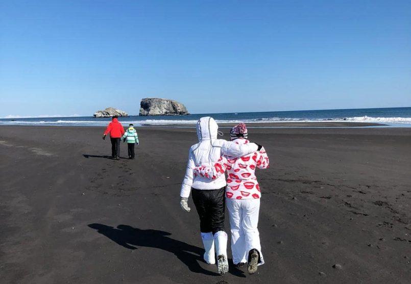 Снегоходная экскурсия на берег Тихого океана