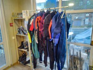 Сап снаряжение, сапы и гидрокостюмы