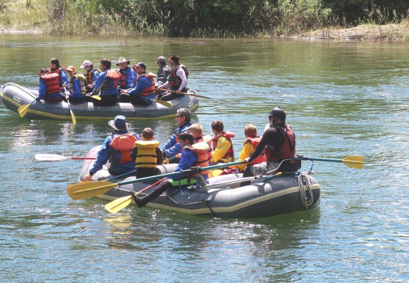 Сплав по реке Паратунка