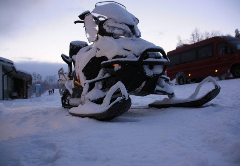 Аренда снегоходов и снегоходные прогулки