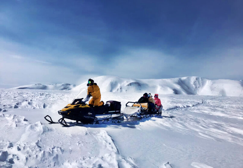Снегоходная экскурсия к Карымшинским источникам